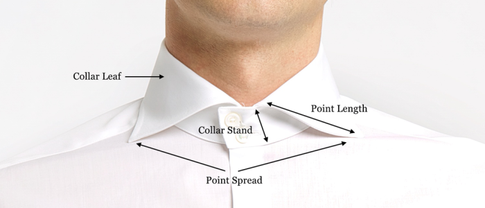 Jme shirts types of collars for Different types of dress shirt collars